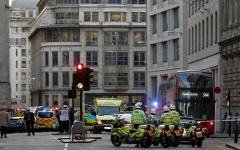 الصورة: الصورة: الشرطة البريطانية: إصابة شخصين في حادث طعن بلندن