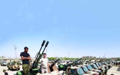 الصورة: الصورة: الجيش الليبي يتأهّب لإفشال مخطّطات أردوغان في سرت