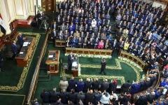 الصورة: الصورة: البرلمان المصري يفوض القوات المسلحة بالتدخل العسكري لحماية الأمن القومي