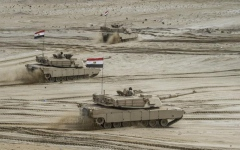 الصورة: الصورة: البرلمان المصري يوافق على نشر قوات في مهام قتالية بالخارج