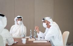 الصورة: الصورة: محمد بن زايد يترأس اجتماع مجلس إدارة جهاز أبوظبي للاستثمار
