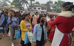 الصورة: الصورة: لليوم السابع على التوالي.. الهند تسجل أكثر من 30 ألف إصابة بكورونا