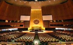 الصورة: الصورة: إرسال مقاطع فيديو للجمعية العامة للأمم المتحدة بدل سفر قادة العالم إلى نيويورك