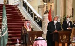 الصورة: الصورة: مصر والسعودية توافق في الرؤى حول مواجهة التدخلات الخارجية في المنطقة