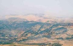 الصورة: الصورة: توقف الاشتباكات بين حزب الله وإسرائيل بمزارع شبعا