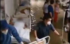 الصورة: الصورة: شاهد.. الإعصار هانا يغرق مستشفى للولادة في المكسيك