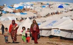 الصورة: الصورة: العيد في سوريا.. فرحة ناقصة في انتظار «لمّ الشمل»