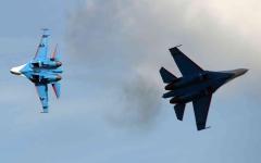 الصورة: الصورة: روسيا تعترض طائرة استطلاع أمريكية فوق البحر الأسود