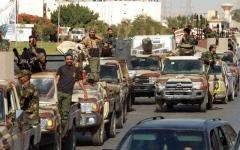 الصورة: الصورة: الجيش الليبي متأهب في العيد  لرد أي عدوان على سرت والجفرة