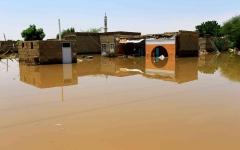 الصورة: الصورة: انهيار سد في السودان يدمّر 600 منزل