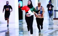 الصورة: الصورة: 363 مشاركاً في سباق «ياس مول»