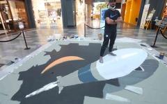 الصورة: الصورة: «دبي كانفس».. الخيال المبدع يلون «سيتي ووك»