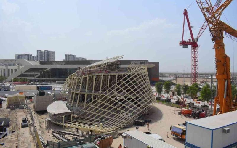 """الصورة: الصورة: لوكسمبورغ تجسد """"شريط موبيوس"""" هندسياً في إكسبو دبي"""
