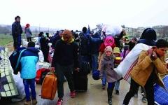 الصورة: الصورة: شرقي سوريا.. تحركات ضد «كورونا» بلا معدات طبية