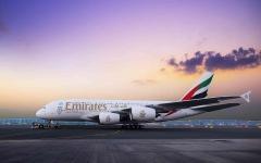 الصورة: الصورة: طيران الإمارات تشغل طائرتها A380 إلى جوانزو 8 أغسطس