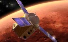 الصورة: الصورة: «كاميرات مسبار الأمل»  تصور المريخ وتتعقّب النجوم لتحدد طريقه