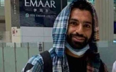 الصورة: الصورة: محمد صلاح يصل إلى دبي لقضاء الإجازة