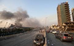 الصورة: الصورة: تفاصيل أولية عن انفجار بيروت