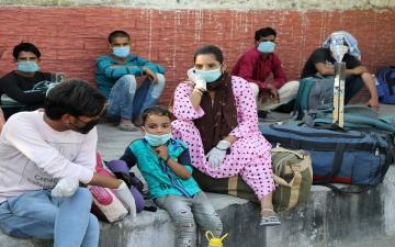الصورة: الصورة: الهند تسجل 52 ألفاً و509 إصابات جديدة بكورونا