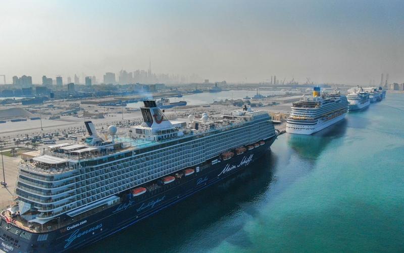 الصورة: الصورة: دبي ضمن الخمس الأوائل عالمياً في مؤشر تطوير الشحن