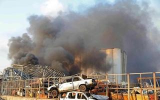 الصورة: الصورة: محافظ بيروت يكشف عن خسائر فادحة جراء انفجار المرفأ