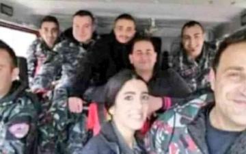 الصورة: الصورة: الصورة الأخيرة لفريق الإطفاء اللبناني المفقود في انفجار بيروت