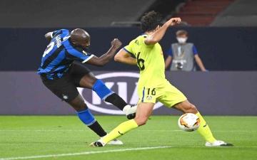 الصورة: الصورة: إنتر ميلان ومانشستر يونايتد إلى ربع نهائي الدوري الأوروبي