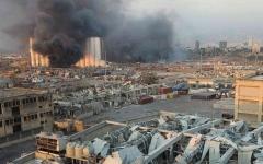 الصورة: الصورة: ارتفاع عدد قتلى انفجار بيروت إلى 137 شخصاً