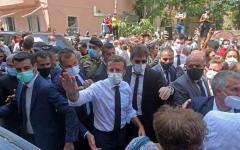 الصورة: الصورة: ماكرون من بيروت : يجب وضع حد للفساد والبدء بالإصلاحات