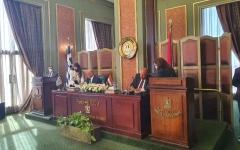 الصورة: الصورة: توقيع اتفاق تعيين الحدود البحرية بين مصر واليونان