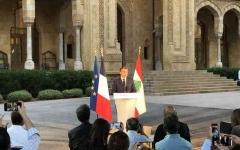 """الصورة: الصورة: ماكرون: ندعم """"لبنان حر وصاحب سيادة"""""""