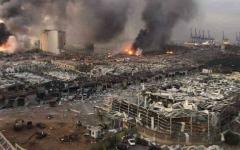 الصورة: الصورة: الصحة اللبنانية: ارتفاع ضحايا انفجار مرفأ بيروت إلى 158