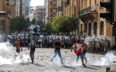 الصورة: الصورة: لبنان على صفيح ساخن في «وقت الحساب»