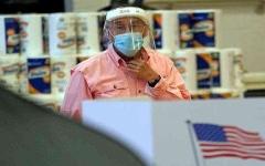 الصورة: الصورة: أكثر من 5 ملايين إصابة بكورونا في الولايات المتحدة
