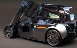 الصورة: الصورة: سيارة بريطانية جبارة بسعر 3 ملايين دولار