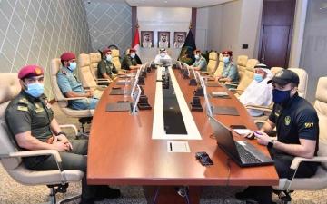 الصورة: الصورة: لتعزيز إجراءات السلامة .. علي المطوع يطلع على خطط عمل فريق المواد الخطرة في دبي