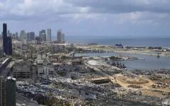 الصورة: الصورة: لبناني يلخص حجم الكارثة: في الحرب الأهلية كان حالنا أفضل!