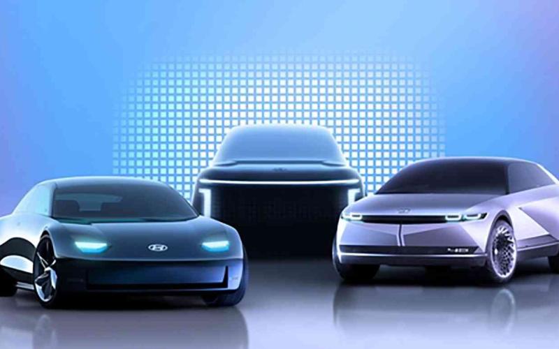 الصورة: الصورة: هيونداي تطرح 3 موديلات من السيارات الكهربائية بالكامل حتى 2024