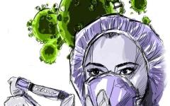 الصورة: الصورة: الجائحة تسلّط الضوء على ندرة العاملين بقطاع التمريض