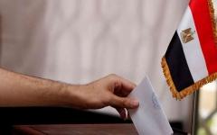 الصورة: الصورة: المصريون يصوّتون لتشكيل مجلس شيوخ جديد