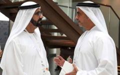 الصورة: الصورة: محمد بن راشد: الإمارات جزء فاعل في تمكين العالم صحياً