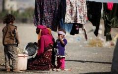 الصورة: الصورة: النازحون في اليمن.. جراح تتعمق بفعل الانقلاب الحوثي