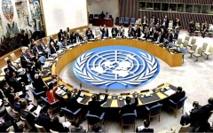 الصورة: الصورة: مجلس الأمن يبدأ التصويت لتمديد حظر الأسلحة على إيران