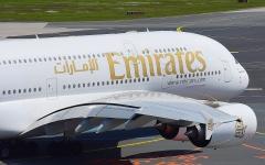 الصورة: الصورة: طيران الإمارات تستخدم A380 لمرة واحدة إلى كلارك 19 أغسطس