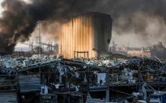 الصورة: الصورة: وفاة فرنسي ثانٍ في انفجار مرفأ بيروت