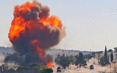 الصورة: الصورة: هجمات إرهابية في إدلب تعلّق «الدوريات المشتركة»