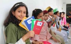 الصورة: الصورة: مشاركة قياسية في انطلاقة نهائي تحدي القراءة العربي