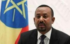 الصورة: الصورة: رئيس الوزراء الأثيوبي يهنىء محمد بن زايد بالإعلان عن معاهدة السلام مع إسرائيل