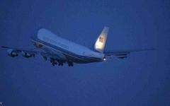 الصورة: الصورة: طائرة ترامب الرئاسية تنجو من الاصطدام فوق واشنطن