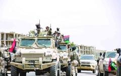 الصورة: الصورة: تركيا وقطر تؤججان الصراع في ليبيا